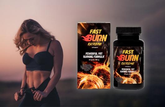 Fast Burn Extreme capsules, ingredientes - funciona?